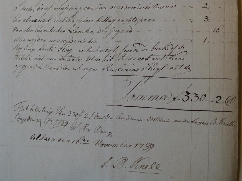 Lakei Knell literatuur en schilderijen coll. Koninklijke Verzamelingen (c)