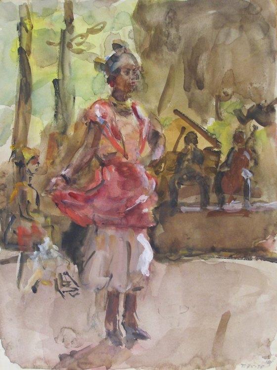 Isaac Israëls, dansende vrouwen, Gemeente Museum Den Haag (Kunstmuseum)