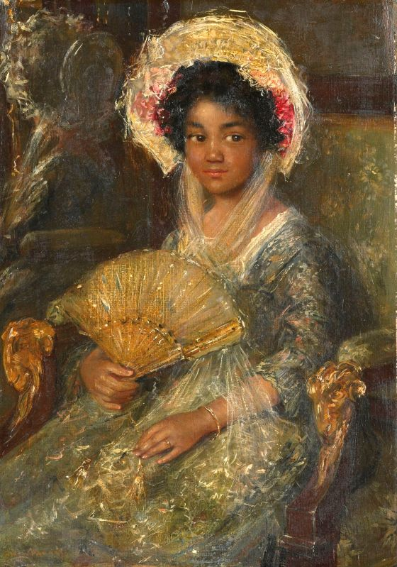 Simon Maris (1873-1935) Young woman with a hat, ca 1907 Oil on canvas, 41 x 29 cm. Rijksmuseum Amsterdam