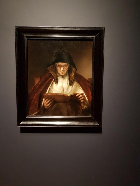 Rembrandt De Profetes of lezende vrouw