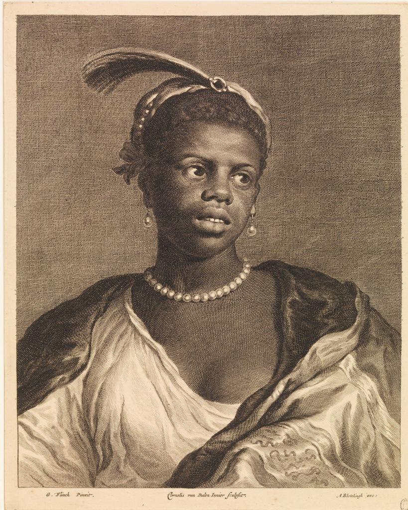 Cornelis van Dalen II naar Govert Flinck . Het Meisje